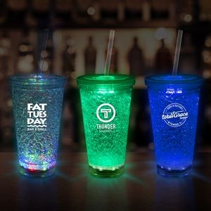 16 Oz. LED Crystal Tumblers Cup